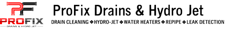 ProFix Drains & Hydro Jet logo
